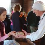 Edukacinės programos akimirka Arklio muziejuje. M. Karčemarsko nuotr.