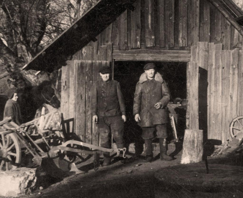 Kurklių kalvė. Iš Arklio muziejaus rinkinio