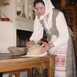 Muziejininkė Nijolė Kačkuvienė.