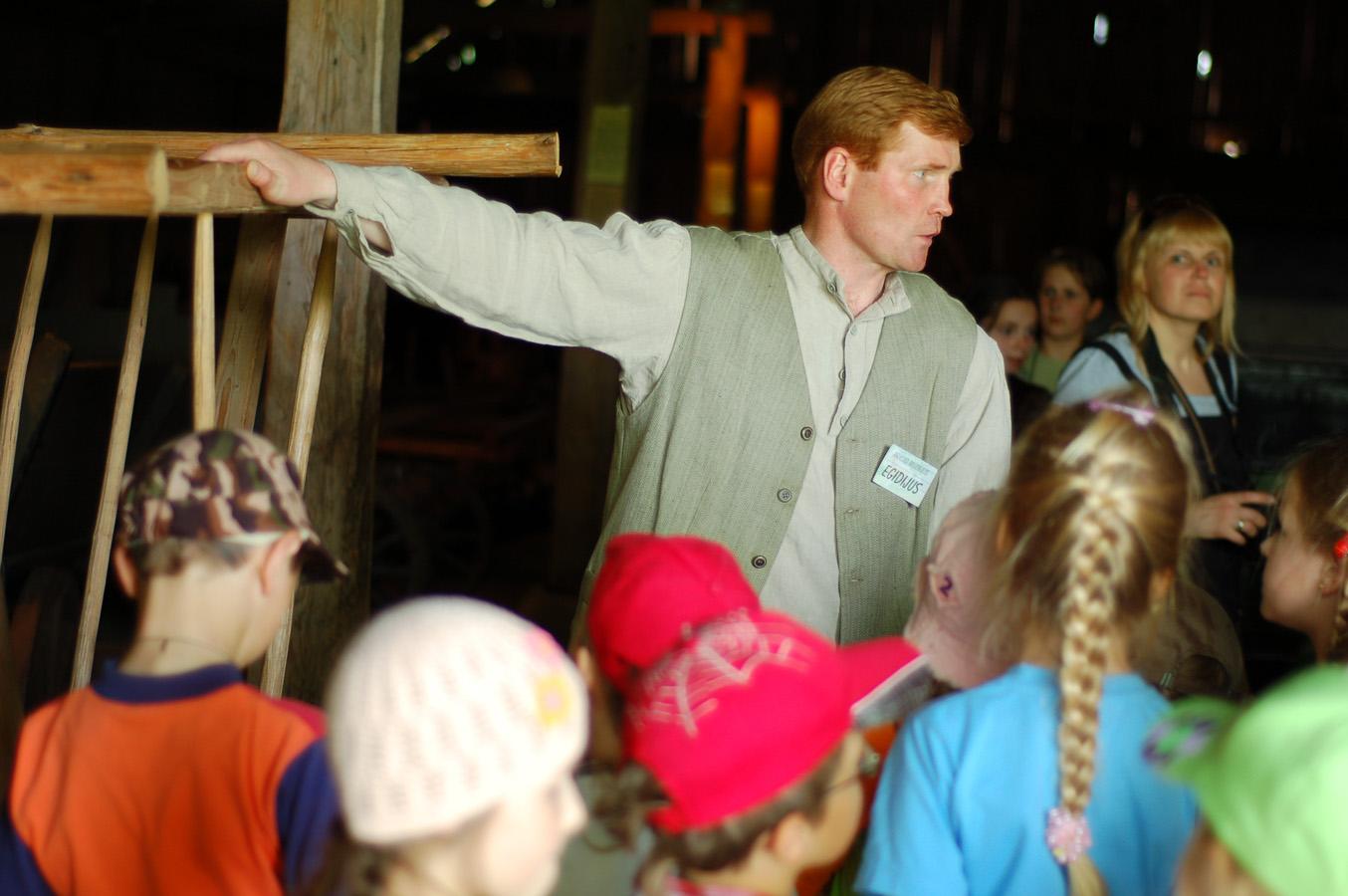 Ekskursija Arklio muziejuje