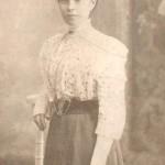 Ona Perenauskiene Rusijoje. Iš Arklio muziejaus fondų