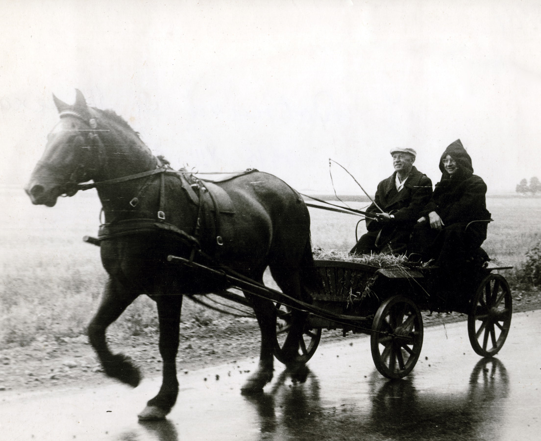 P. Vasinauskas ir V. Vaicekauskas keliauja po Lietuvą