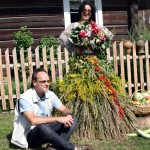 Saulius Sapijanskas ir dr. Jolanta Zabulytė Žolinės šventėje