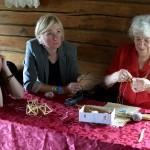 Sodų rišėja Veronika Limbiebė su Žolinės svečiais
