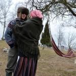Gediminas ir Greta ruošiasi antros dienos kelionei. M. Karčemarsko nuotr.