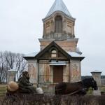Prie caro laikų cerkvės. M. Karčemarsko nuotr.
