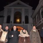 Keliautojai (iš kairės) V. Digaitis, V. Banys, M. Kleišmantas, J. Obrikienė, R. Žiauberis ir M. Karčemarskas. G. Digaičio nuotr.