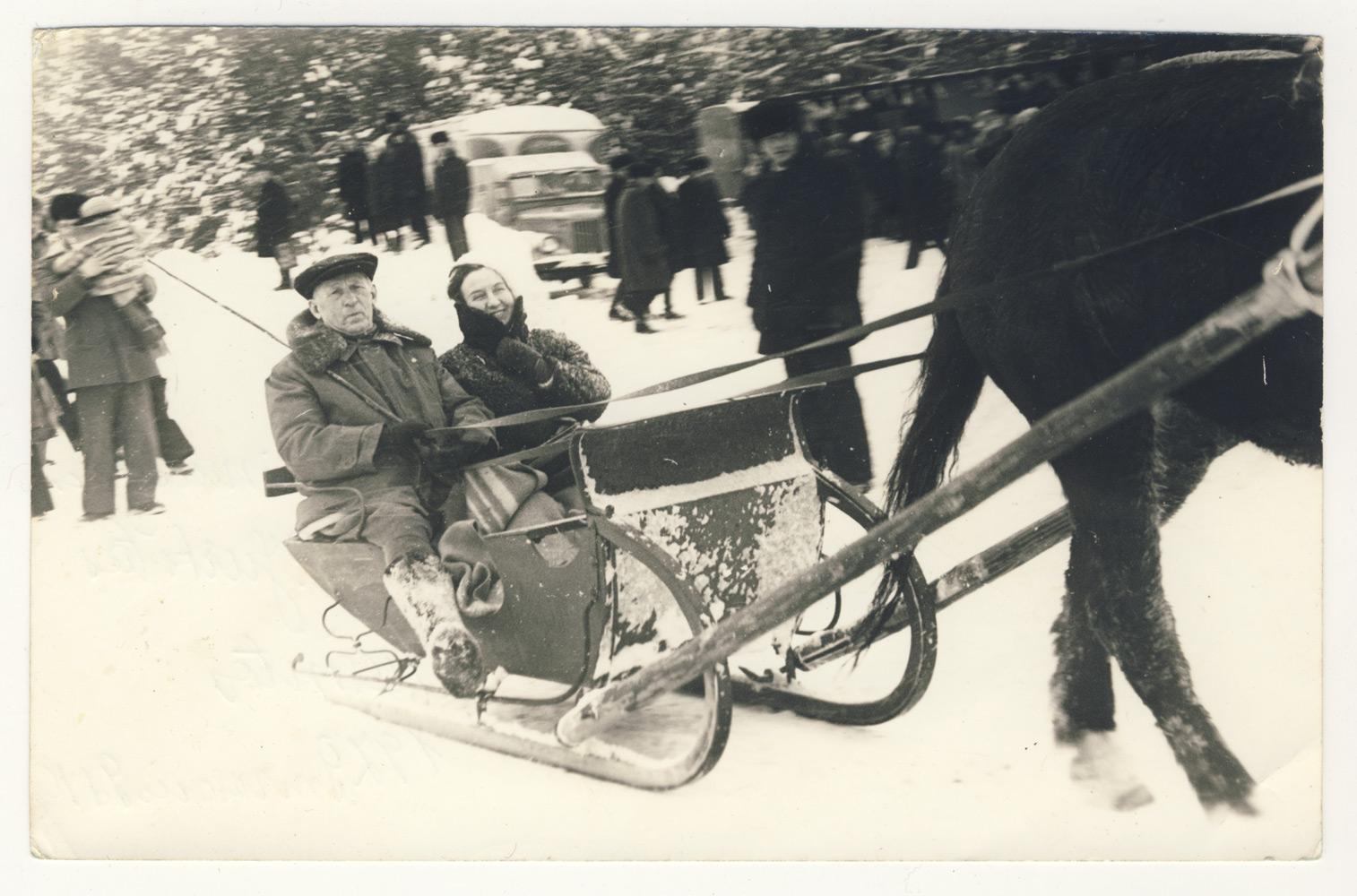 Petras Vasinauskas ir Teresė Mikeliūnaitė Niūronyse