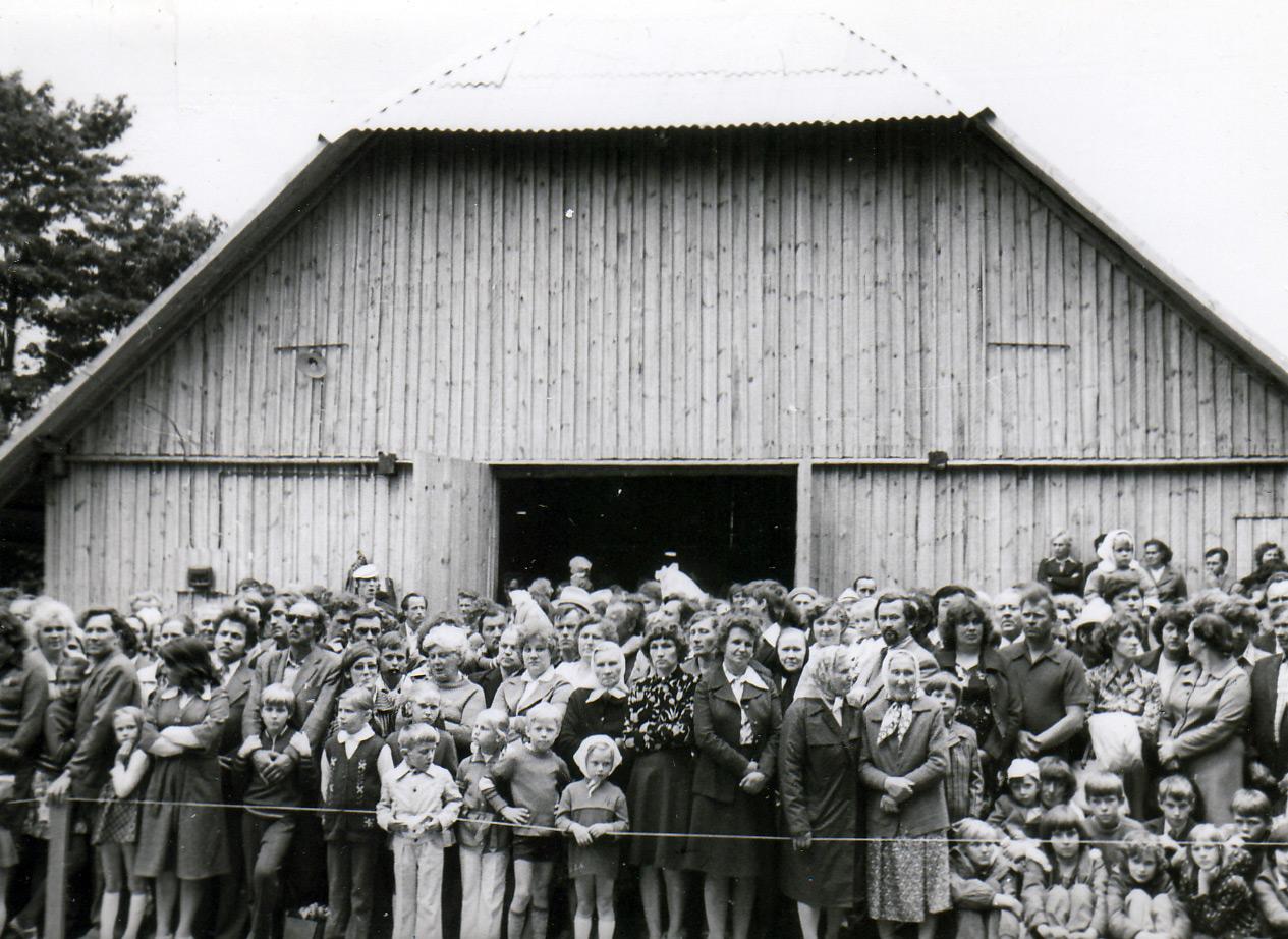 Arklio muziejaus atidarymo akimirka