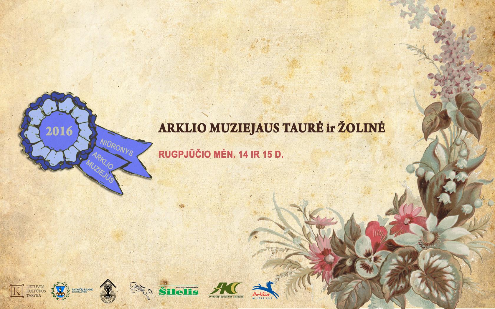 Arklio muziejaus taurė ir Žolinė