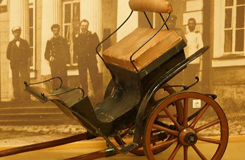 Ekspozicijos arklio muziejuje